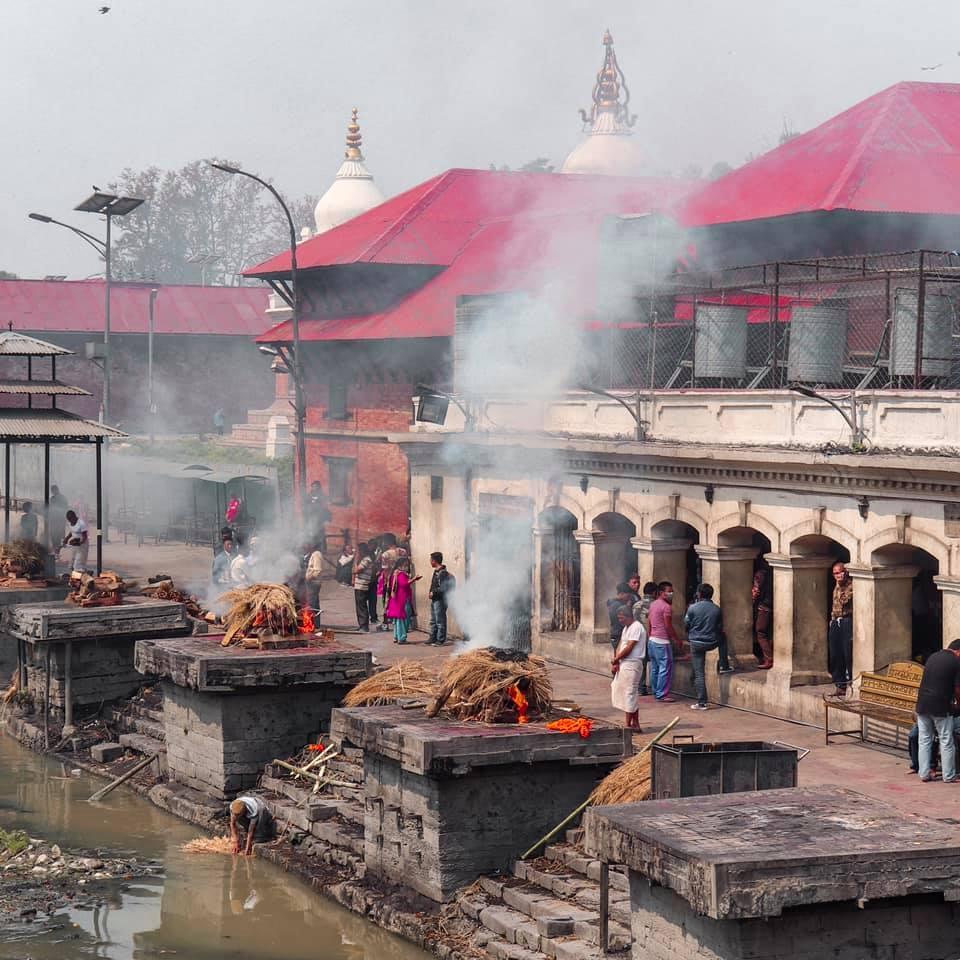 Crematório Hindu Nepal