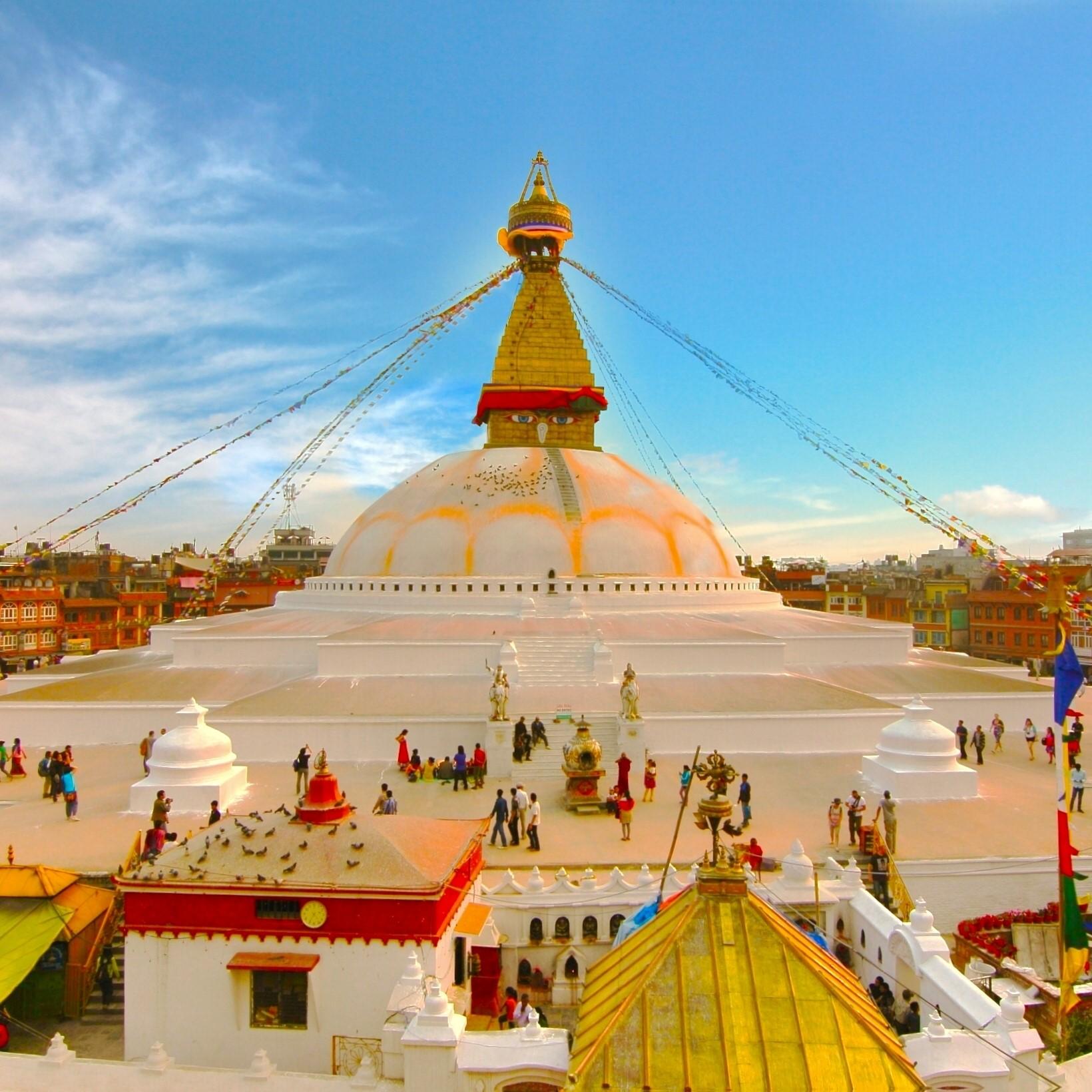 Stupa Budista Nepal