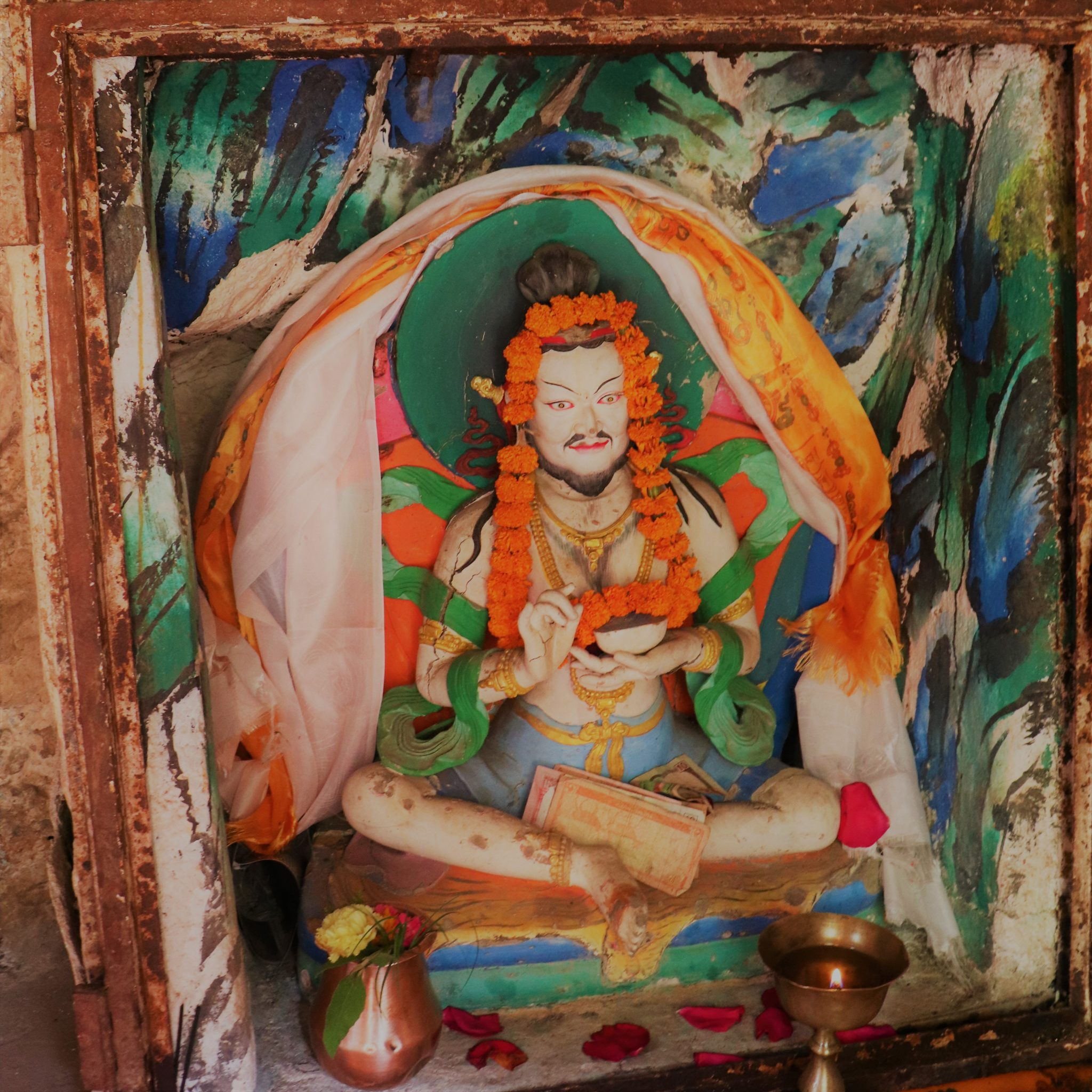 Imagem Budista Padmasambhava