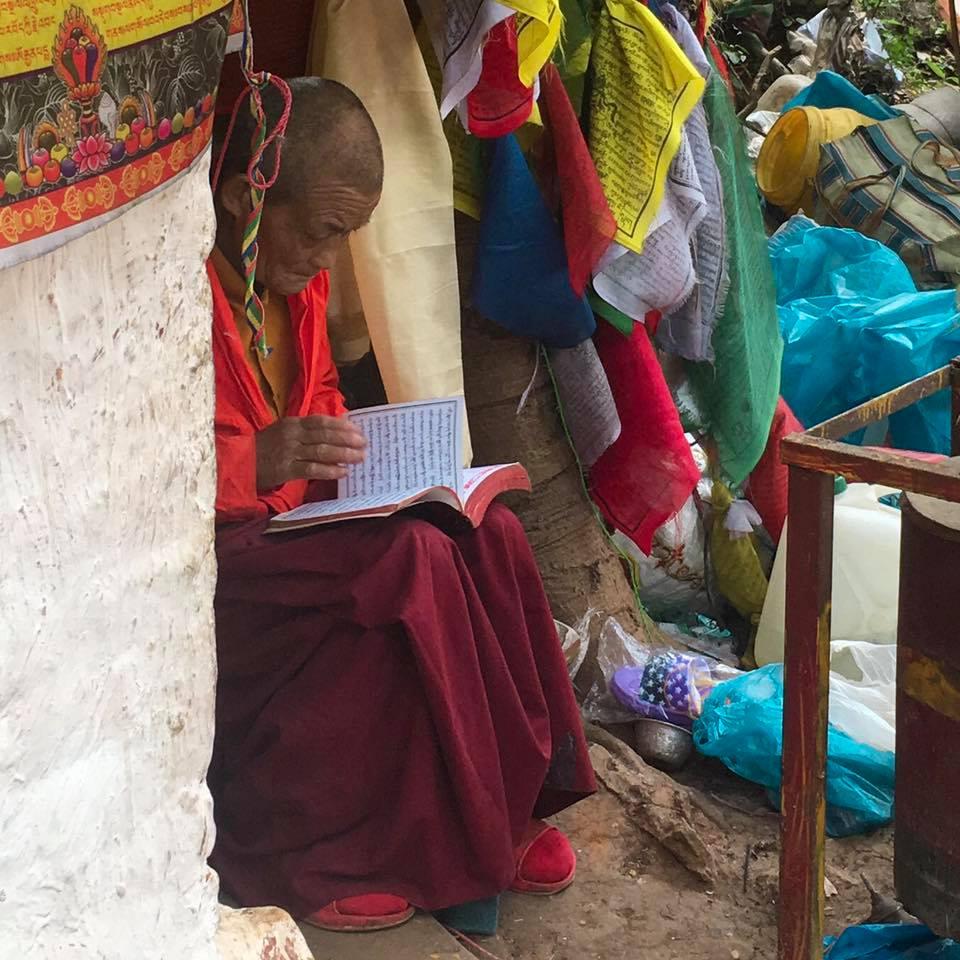 Monge Budista Nepal