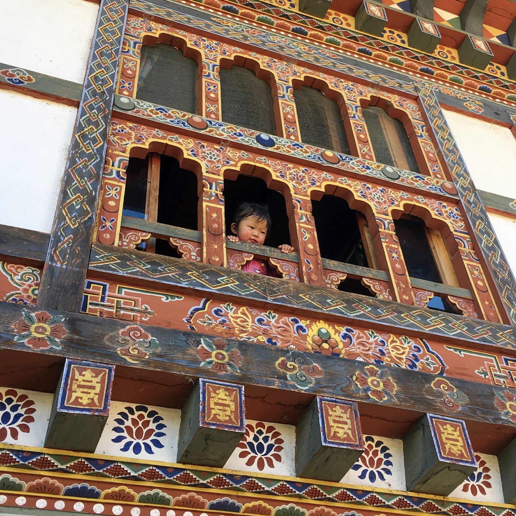 Criança Butão