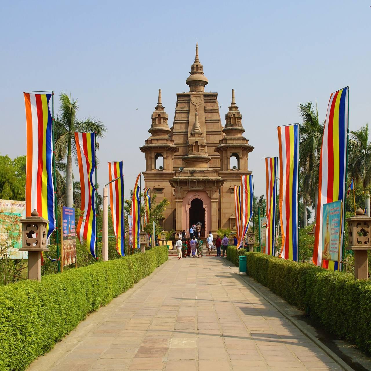 Sarnath Peregrinação à Índia